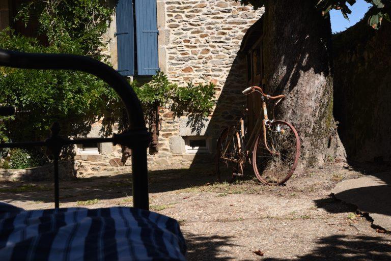 Vieux vélo - La Maison